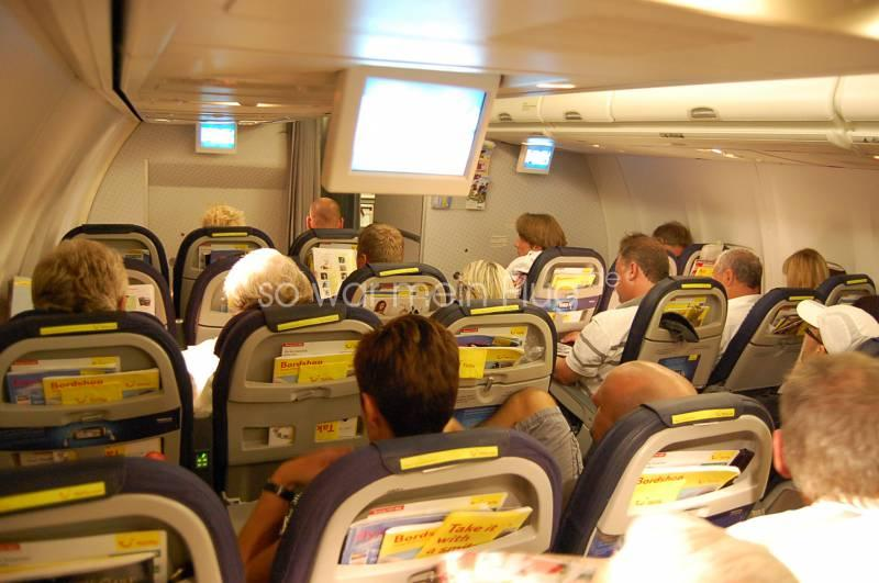 Airline Bewertung Flugbewertung Tuifly Economy Class