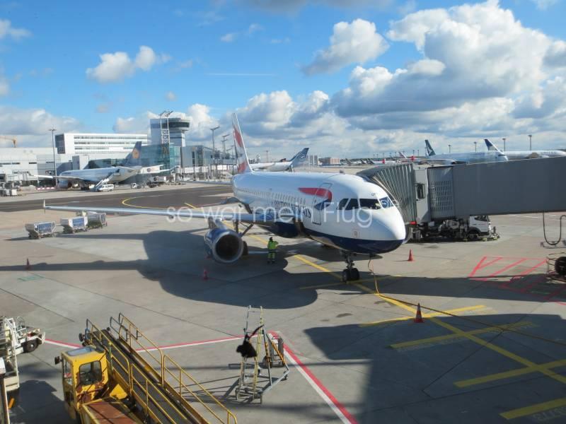 Flug Frankfurt Heathrow
